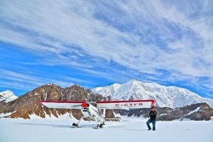 avion ski kluane